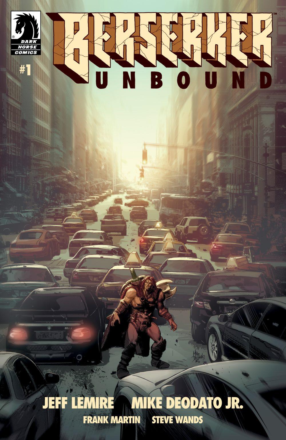 Berserker Unbound #1, copertina di Mike Deodato Jr.
