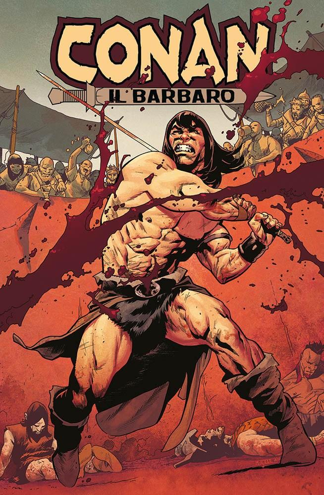 Conan il barbaro 1, copertina variant di Mahmud Asrar