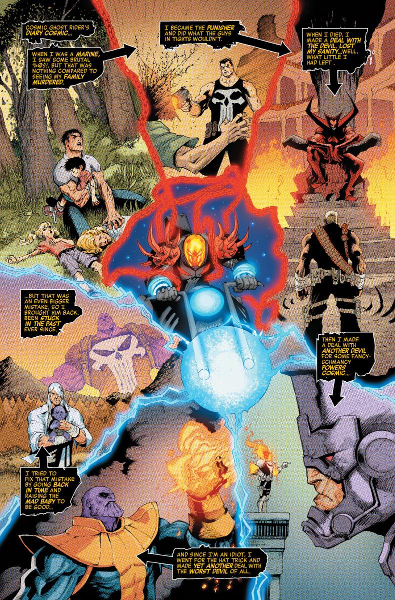Cosmic Ghost Rider Destroys Marvel History #1, anteprima 01