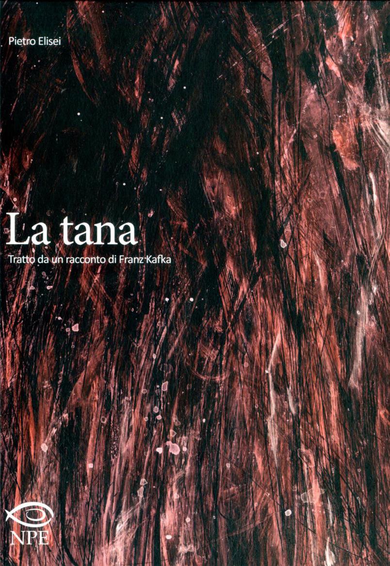 La tana, copertina di Pietro Elisei