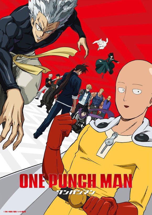 One-Punch Man, locandina seconda stagione anime