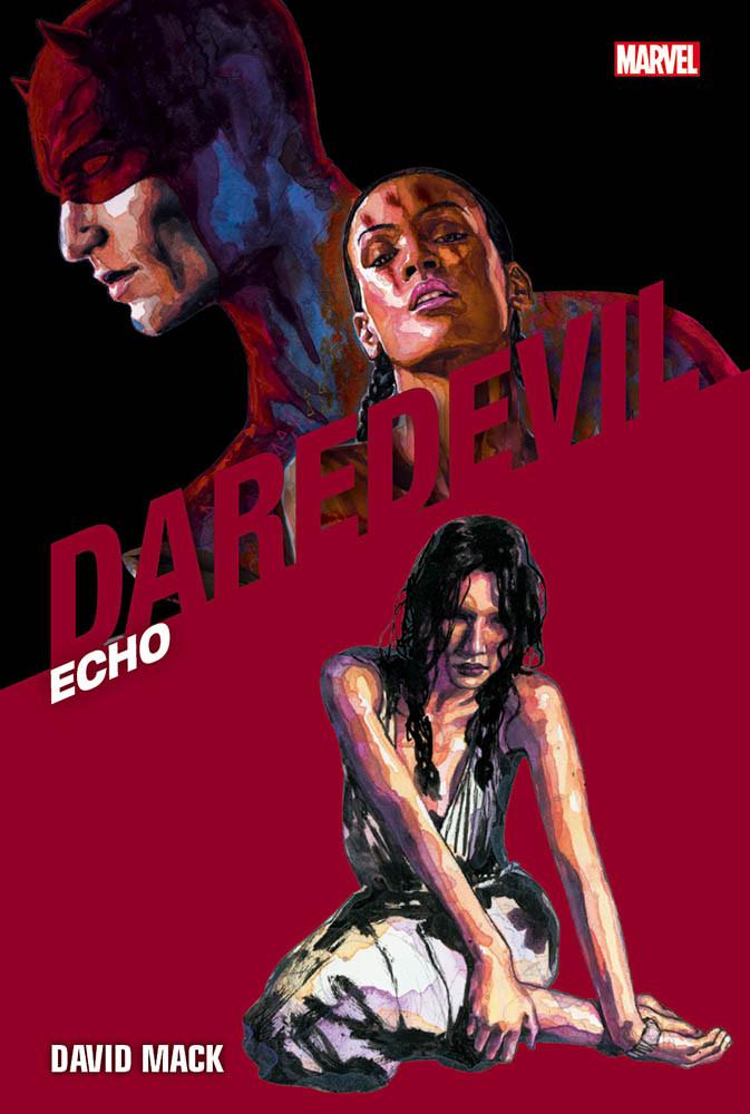 Daredevil Collection vol. 23: Echo, copertina di David Mack
