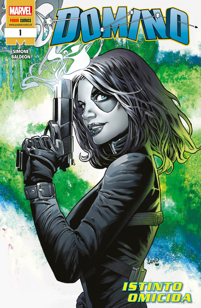 Domino 1: Istinto omicida, copertina di Grag Land