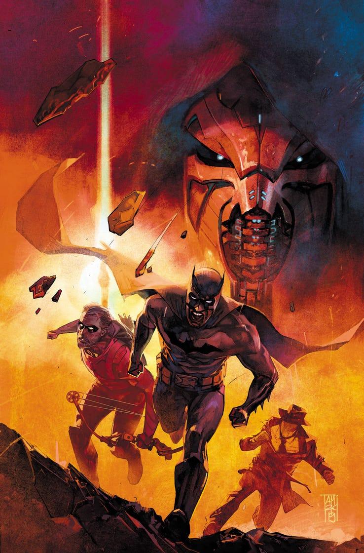 Event Leviathan #1, copertina di Alex Maleev