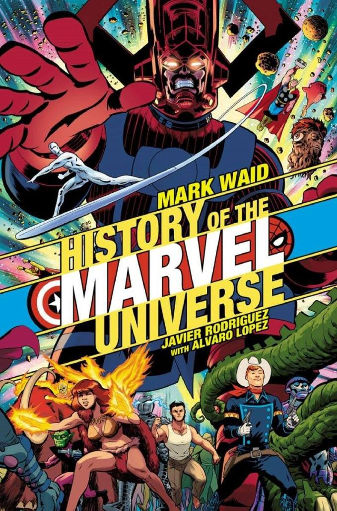History of the Marvel Universe #1, variant cover di Javier Rodriguez