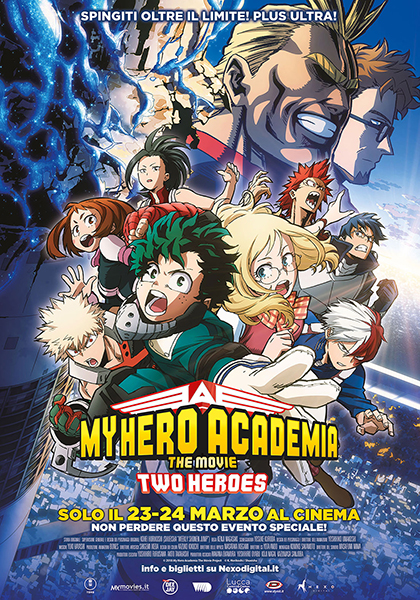 My Hero Academia: Two Heroes poster