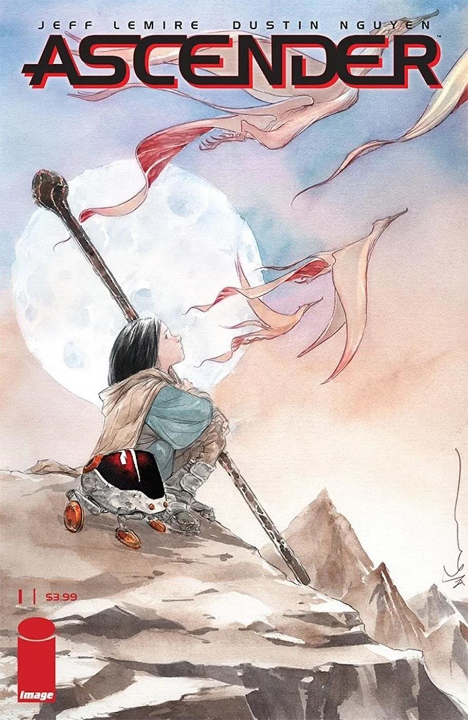Ascender #1, copertina di Dustin Nguyen