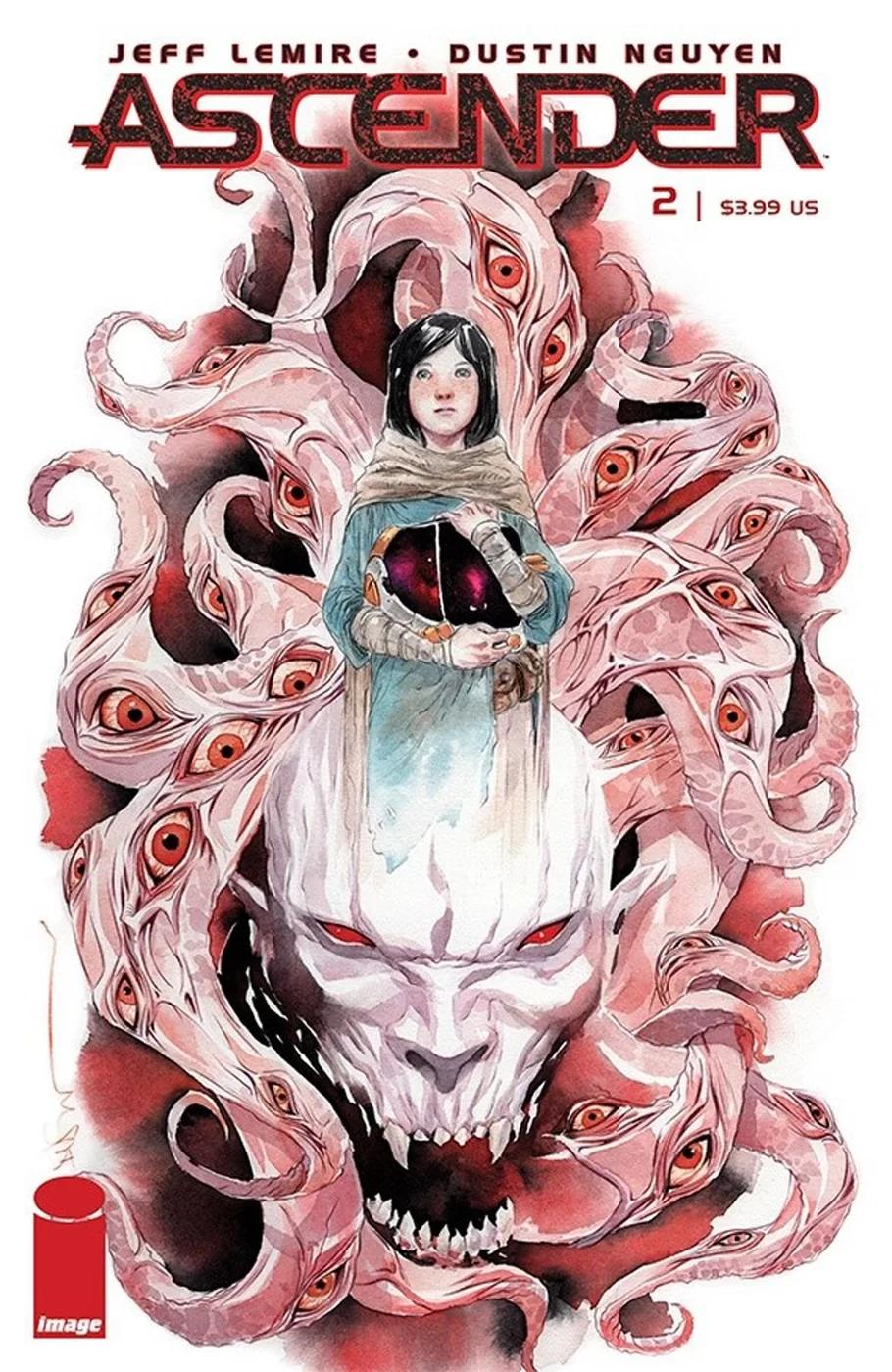Ascender #2, copertina di Dustin Nguyen