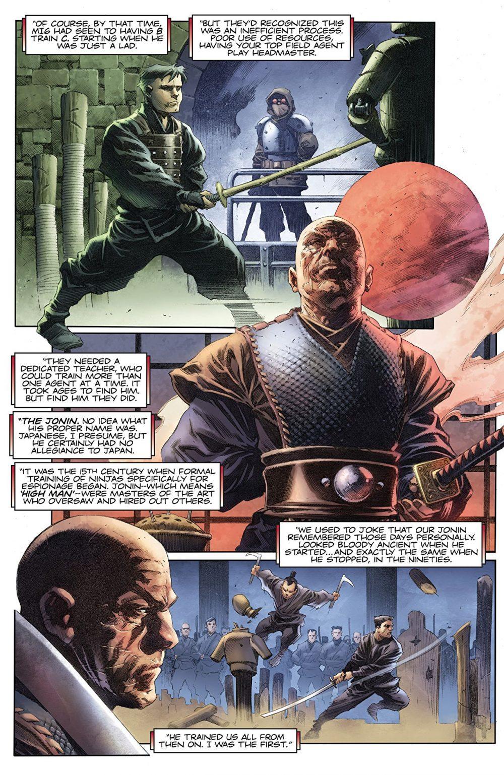 Ninja-K #1, anteprima 03