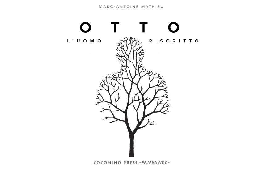 Otto: L'uomo riscritto, copertina di Marc-Antoine Mathieu
