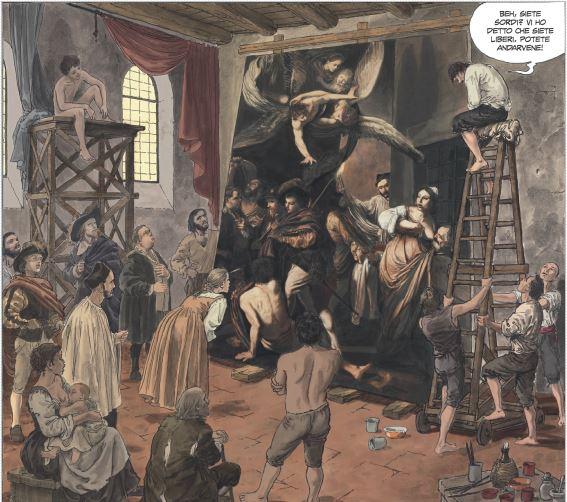 Caravaggio vol. 2: La grazia, anteprima 01