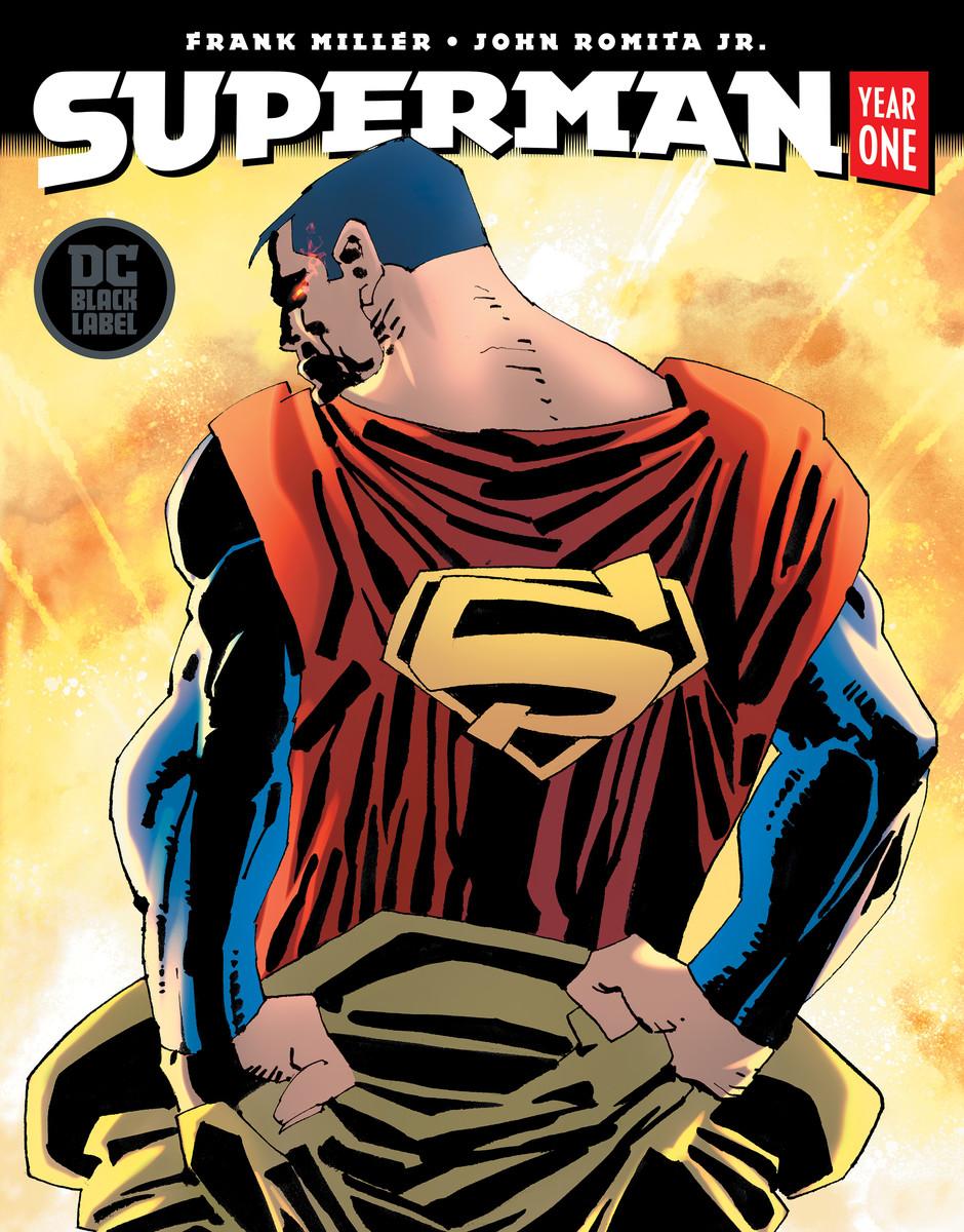 Superman: Year One, copertina di Frank Miller