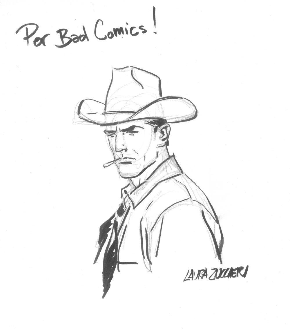 Tex, bozzetto di Laura Zuccheri