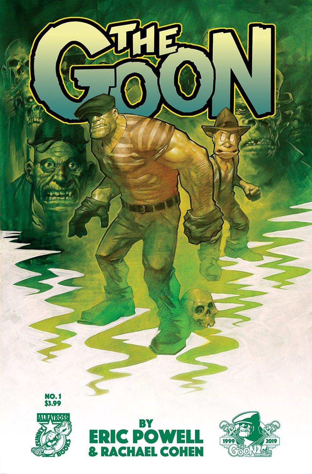 The Goon #1, copertina di Eric Powell