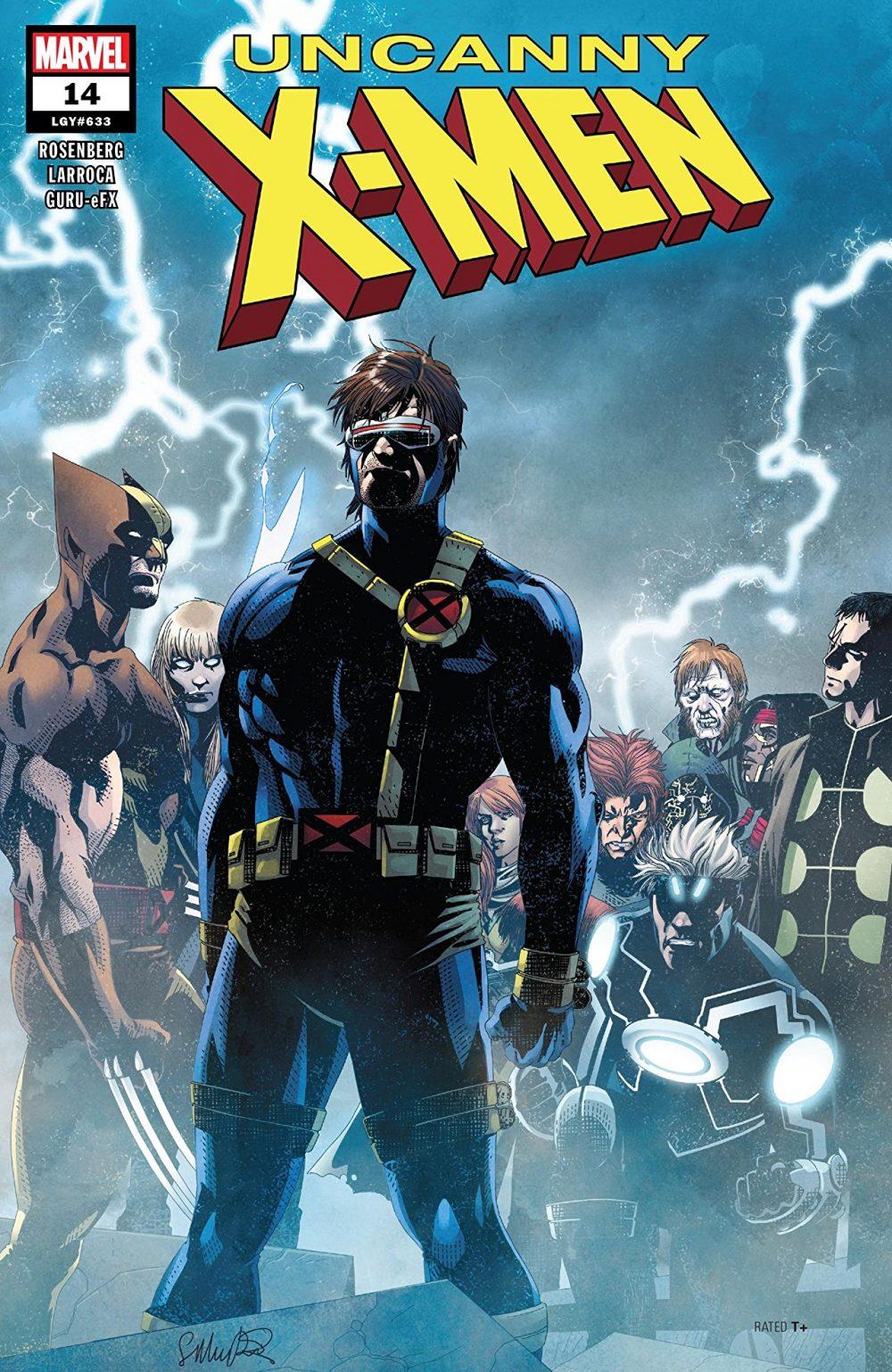 Uncanny X-Men #14, copertina di Salvador Larroca