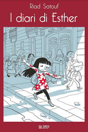 I diari di Esther, copertina di Riad Sattouf