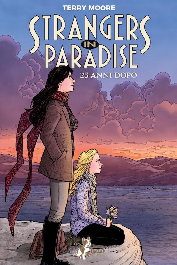 Strangers in Paradise: 25 anni dopo, copertina di Terry Moore