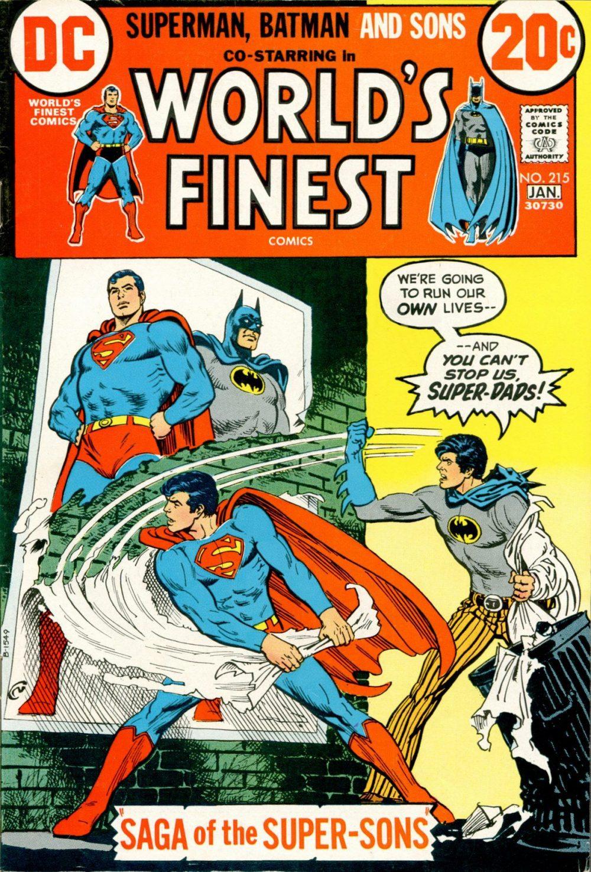 World's Finest #215, copertina di Dick Dillin