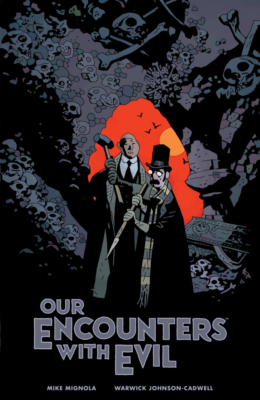 Our Encounters with Evil, copertina di Mike Mignola