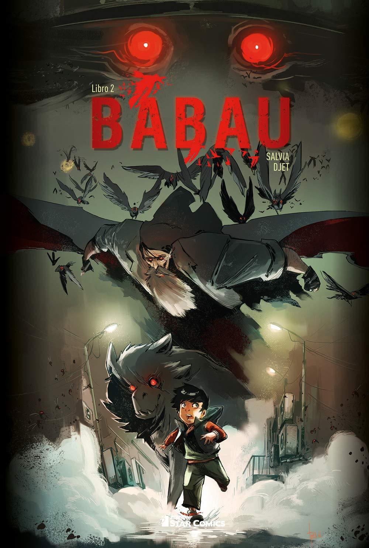 Babau vol. 2, copertina di Djet