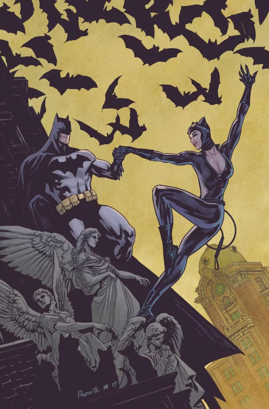 Batman #75, variant cover di Yanick Paquette