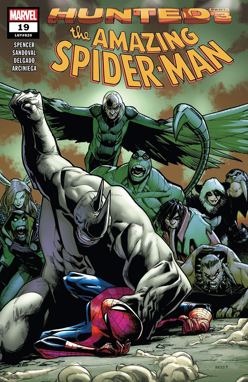 Amazing Spider-Man #19, copertina di Humberto Ramos