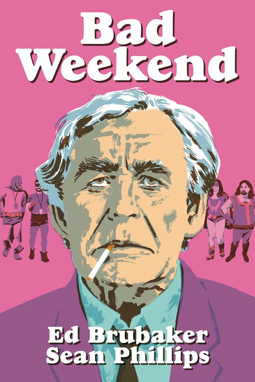 Bad Weekend, copertina di Sean Phillips