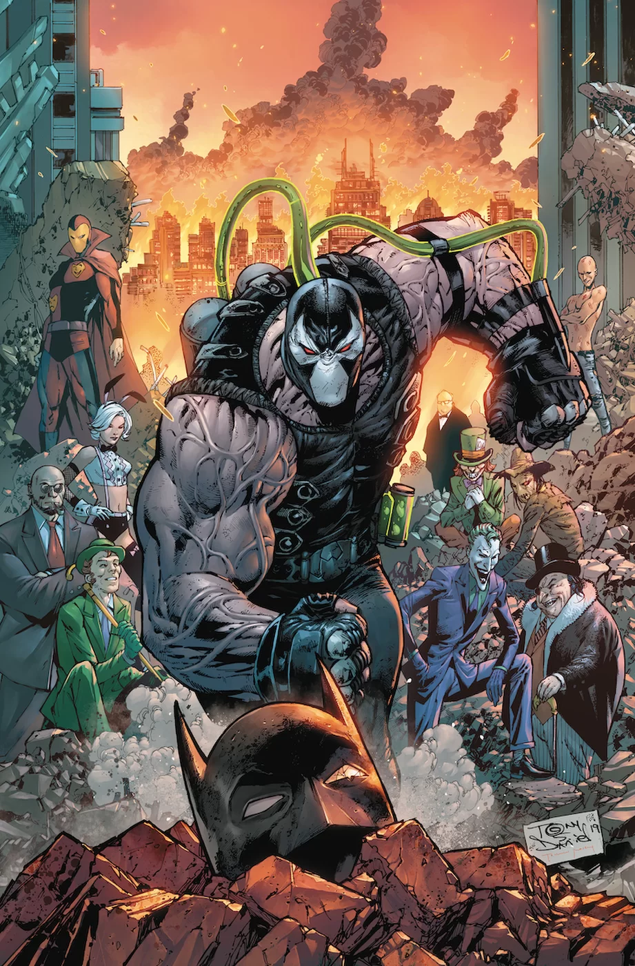 Batman #75, copertina di Tony Daniel