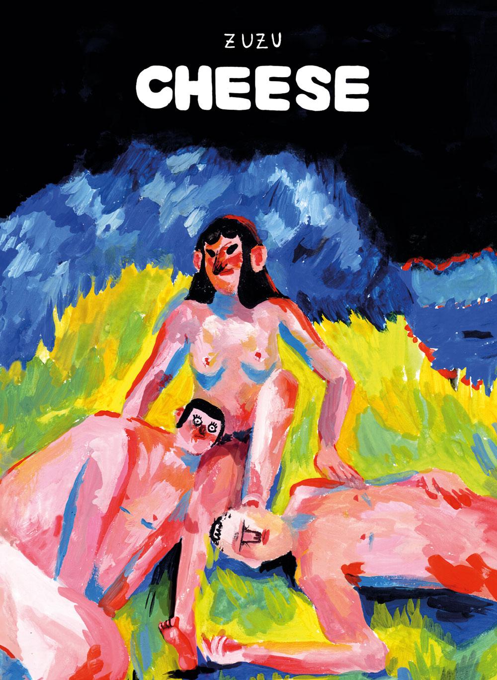 Cheese, copertina di Zuzu