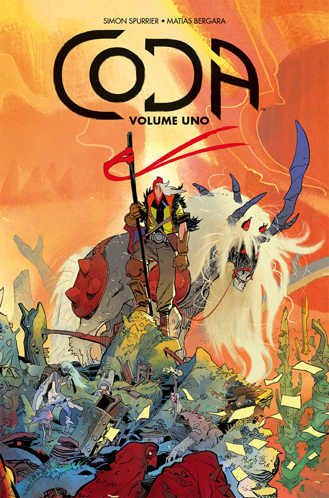 Coda vol. 1, copertina di Matias Bergara