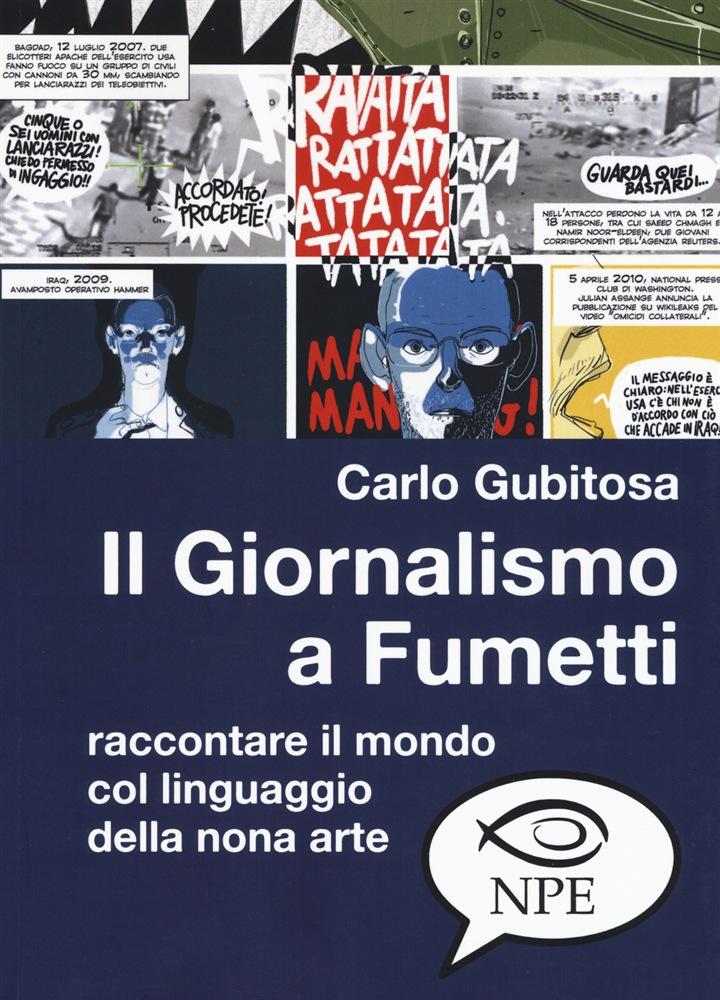 Il Giornalismo a Fumetti, copertina di Carlo Gubitosa