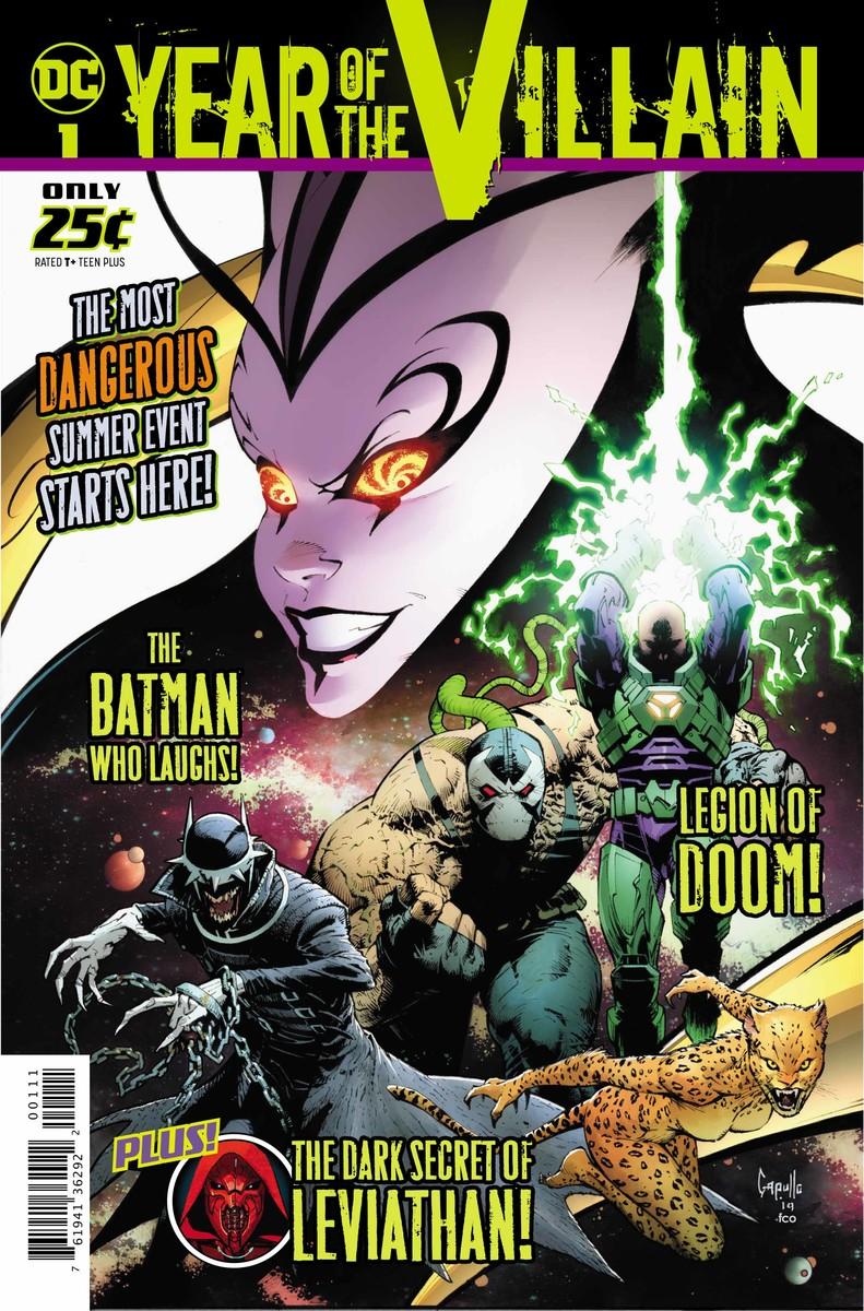 DC's Year of the Villain #1, copertina di Greg Capullo