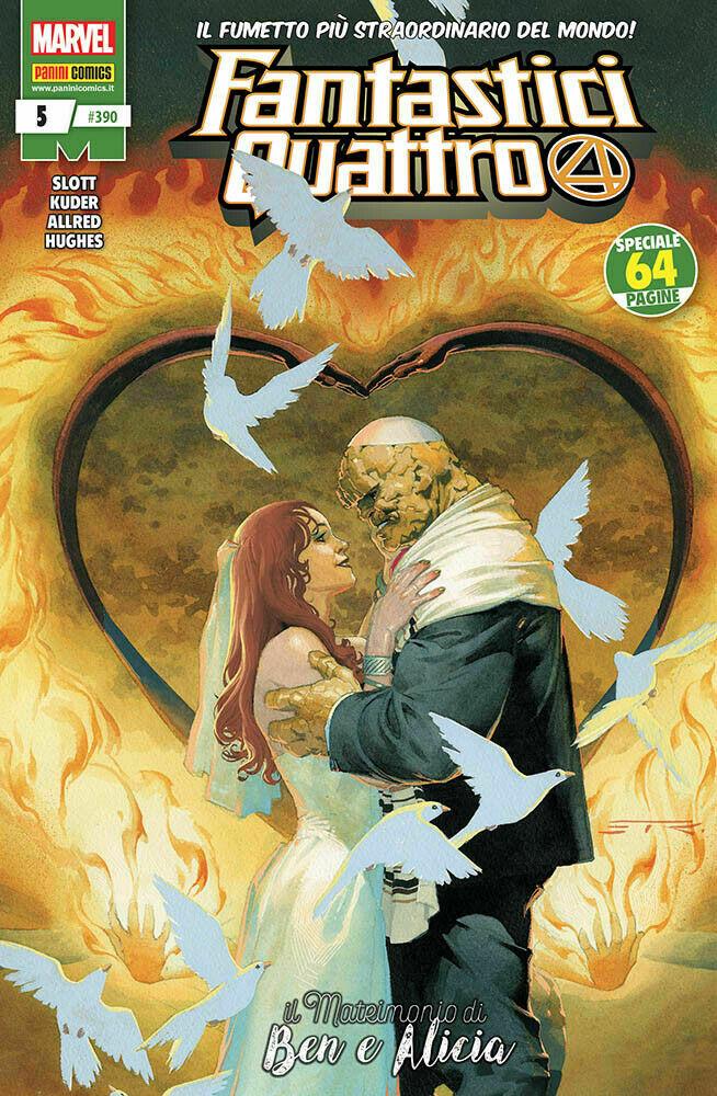 Fantastici Quattro 5, copertina di Esad Ribic