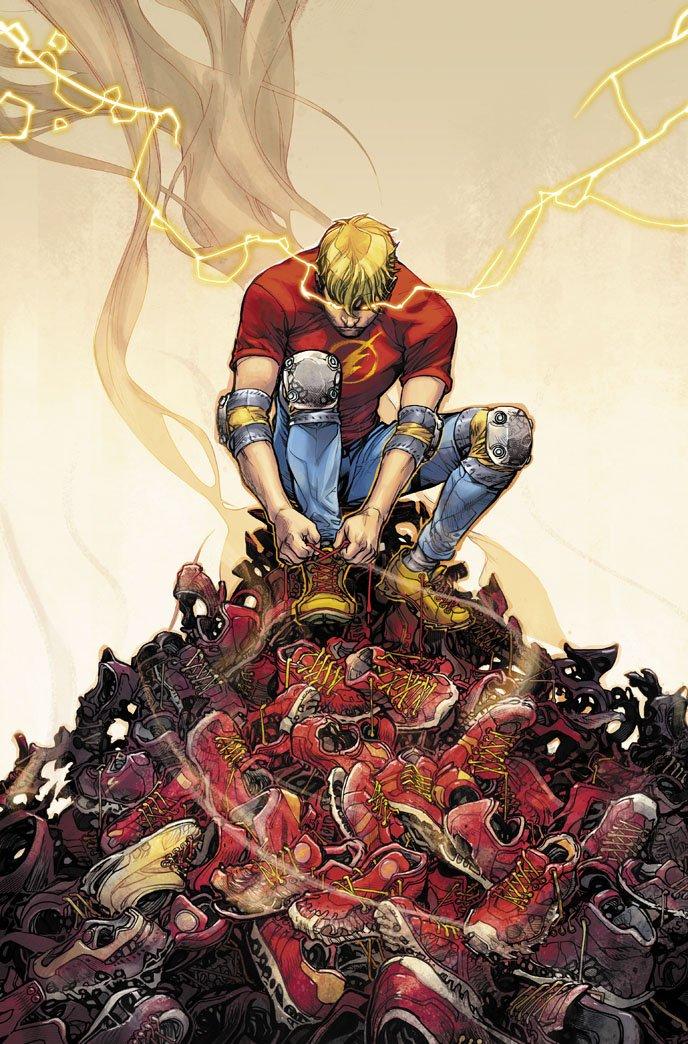 Flash #70, copertina di Howard Porter