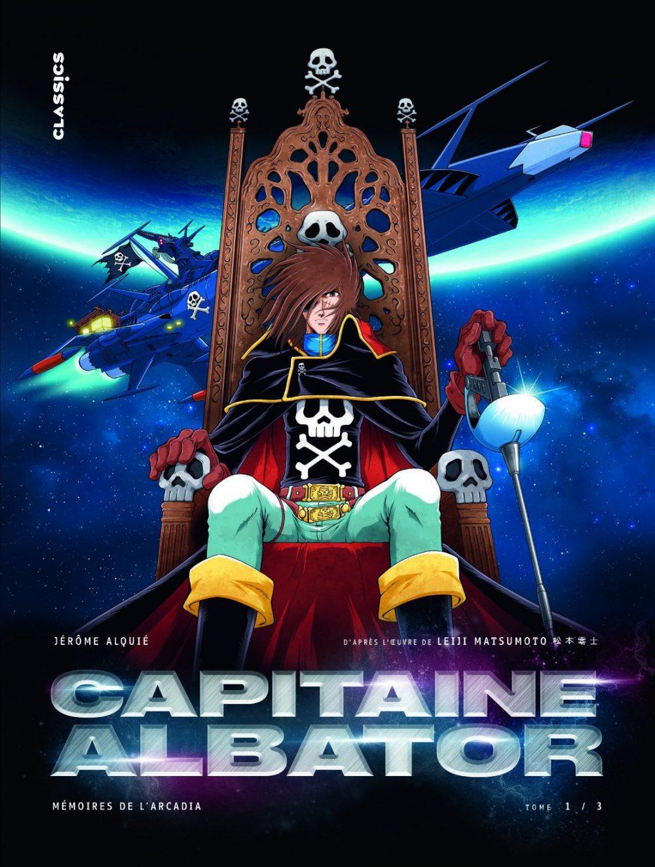 Capitaine Albator: Mémoires de l'Arcadia vol. 1, copertina di Jérôme Alquié