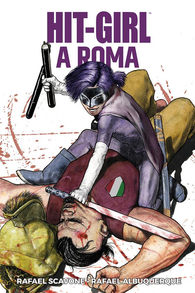 Hit-Girl vol. 3: Roma, copertina di Tanino Liberatore