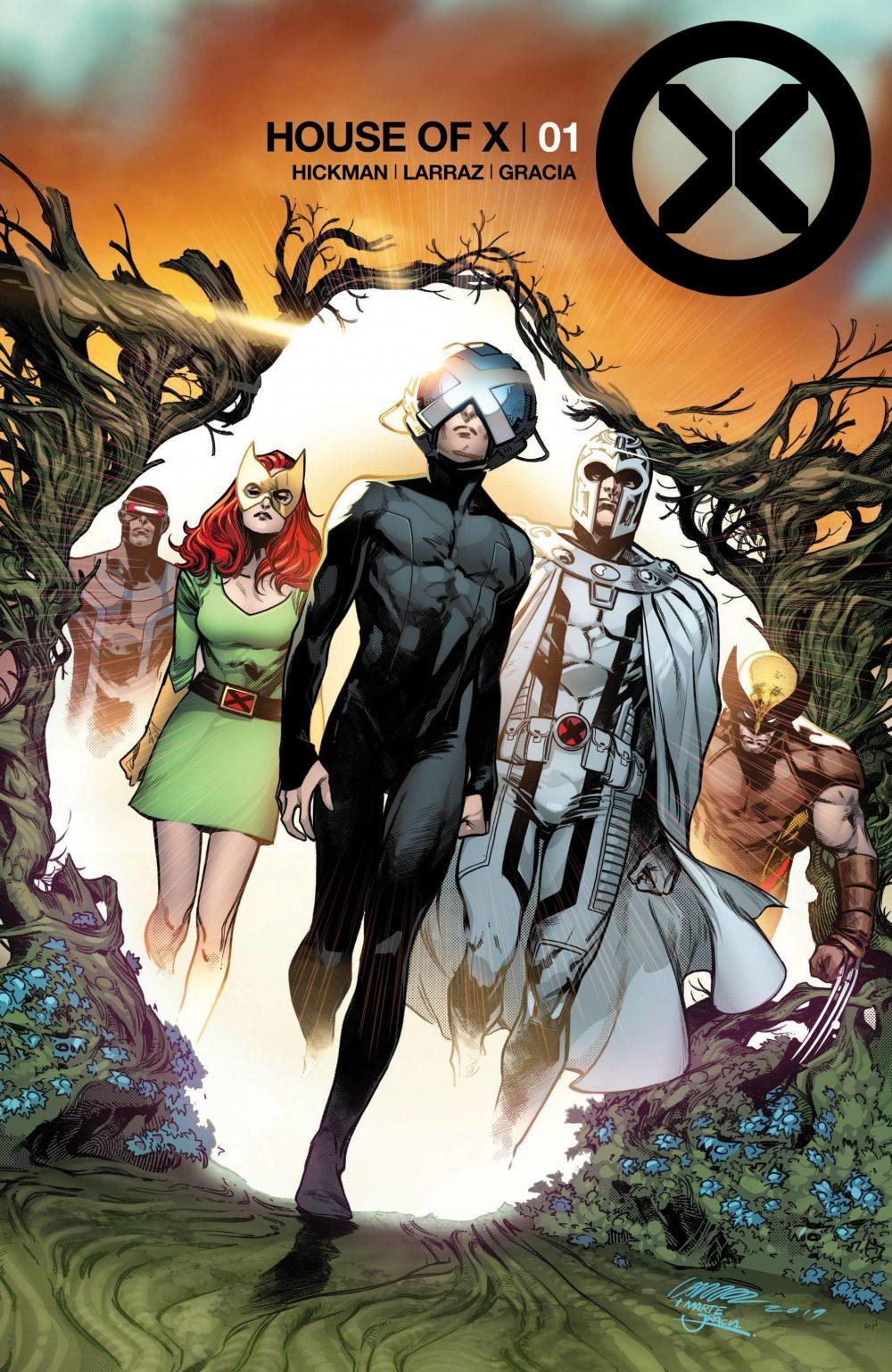 House of X #1, copertina di Pepe Larraz