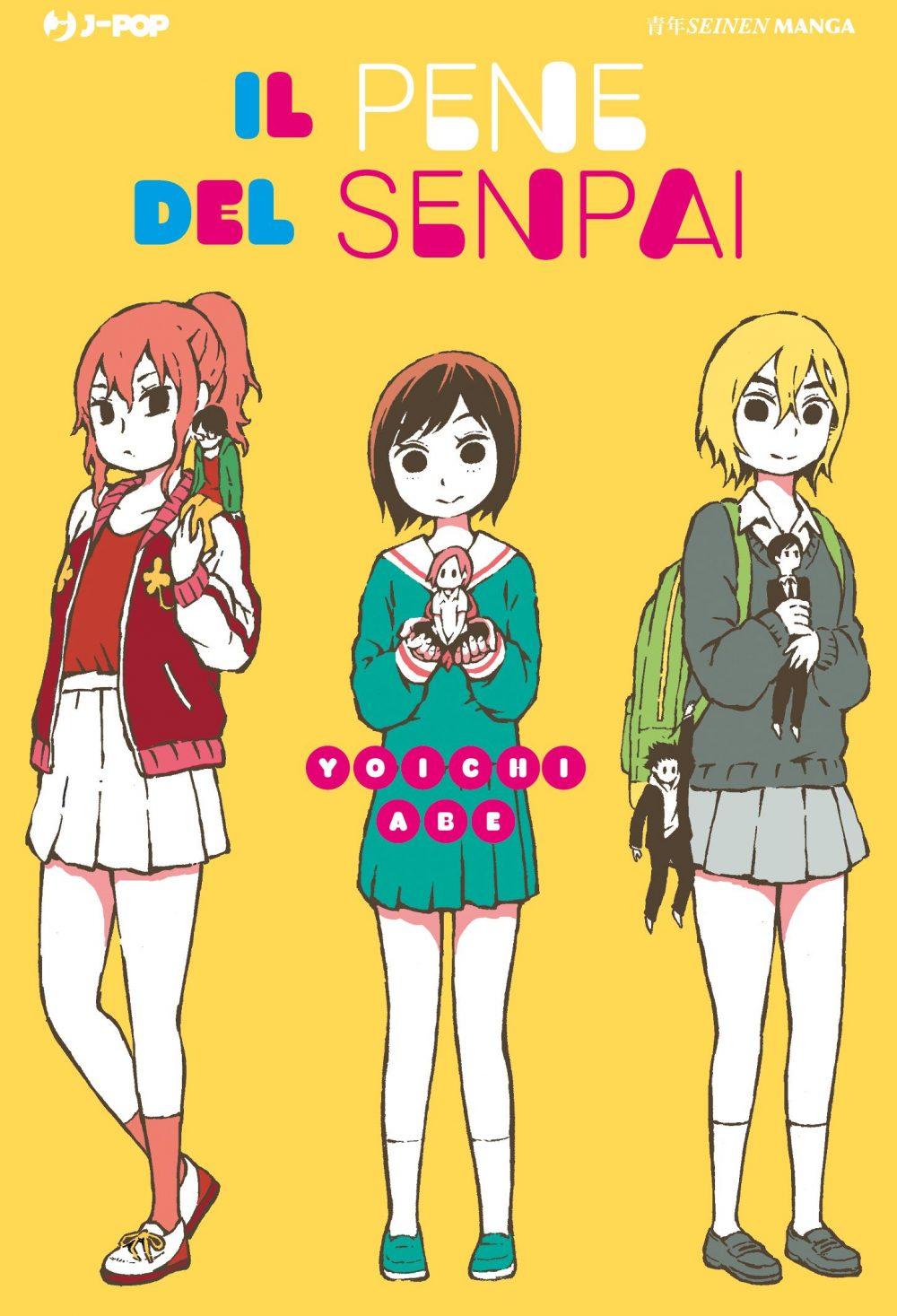 Il pene del senpai, copertina di Yoichi Abe