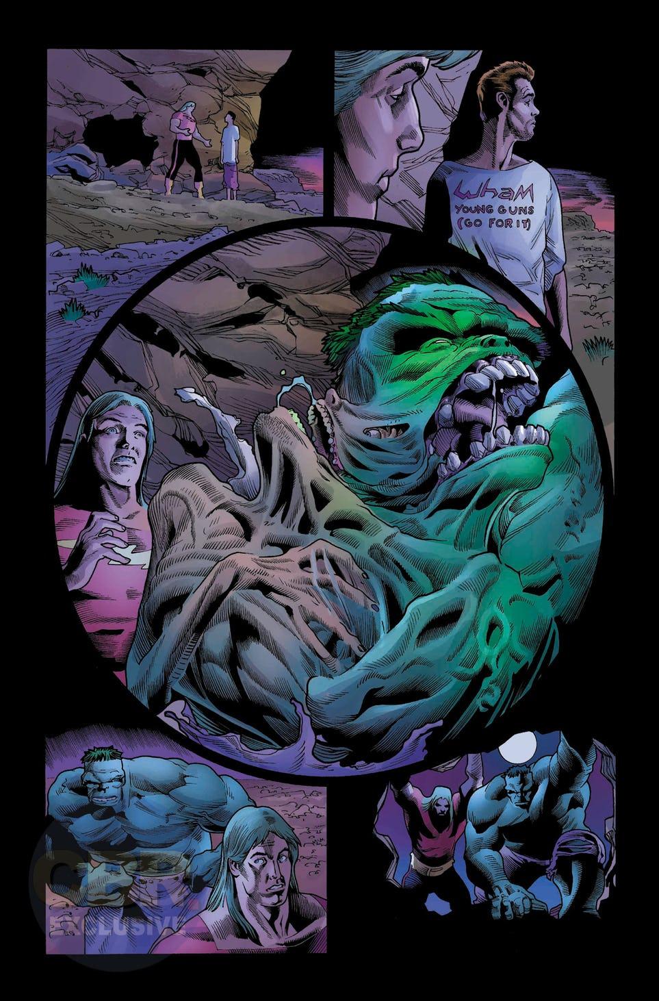 Immortal Hulk #16, anteprima 01