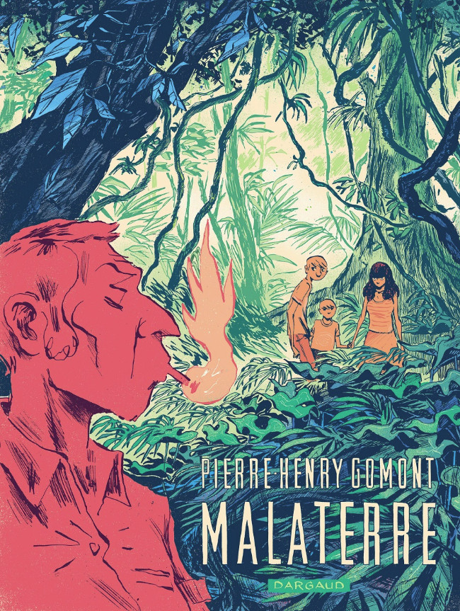 Malaterre, copertina di Pierre-Henry Gomont