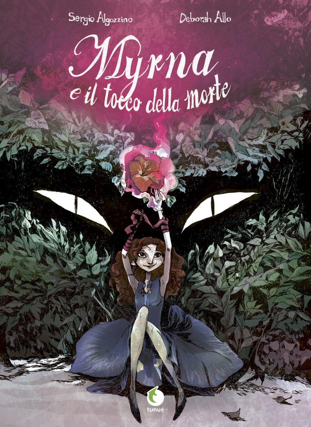 Myrna e il tocco della morte, copertina di Deborah Allo