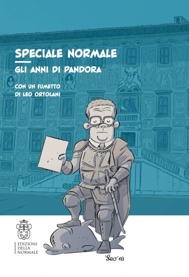 Speciale Normale - Gli anni di Pandora, copertina di Leo Ortolani