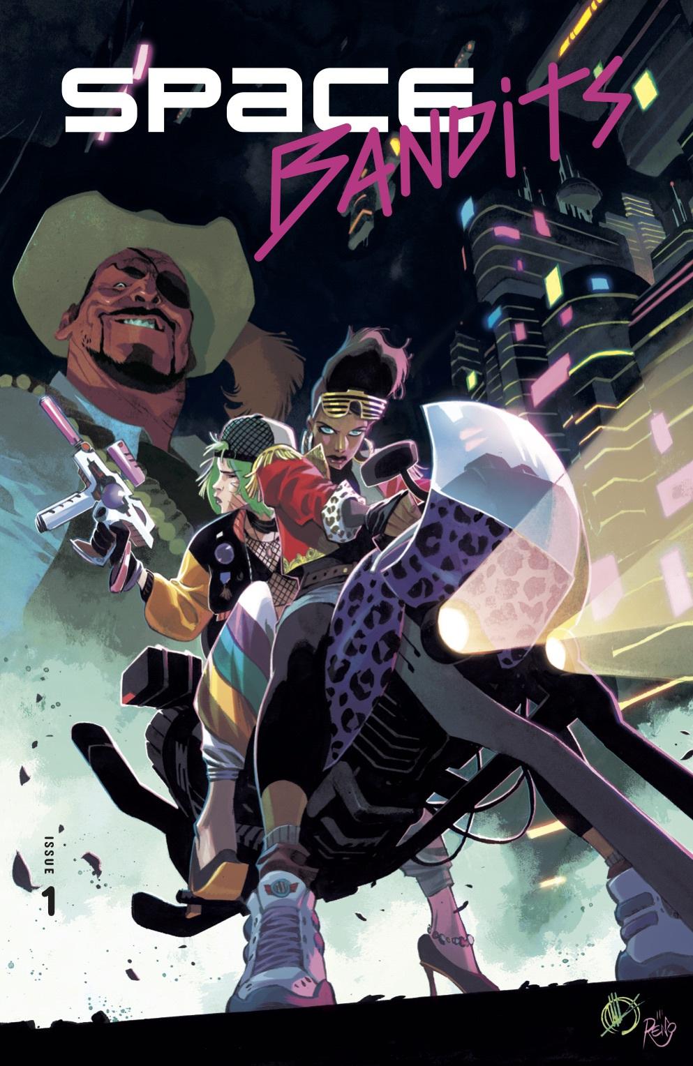 Space Bandits, copertina di Matteo Scalera
