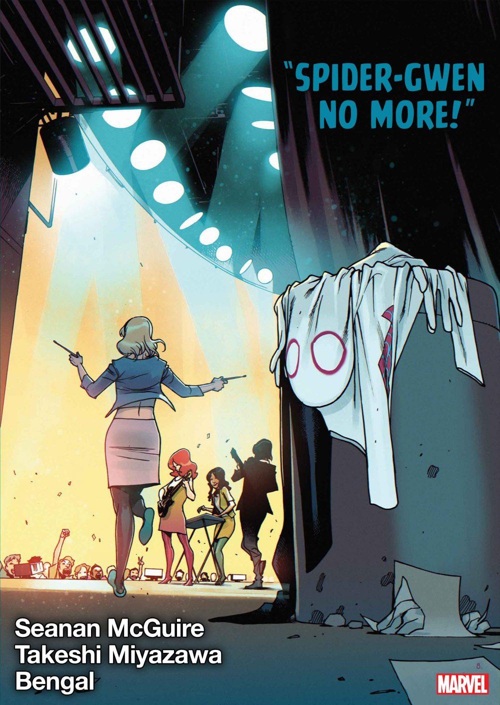 Spider-Gwen: Ghost Spider #10, copertina di Bengal