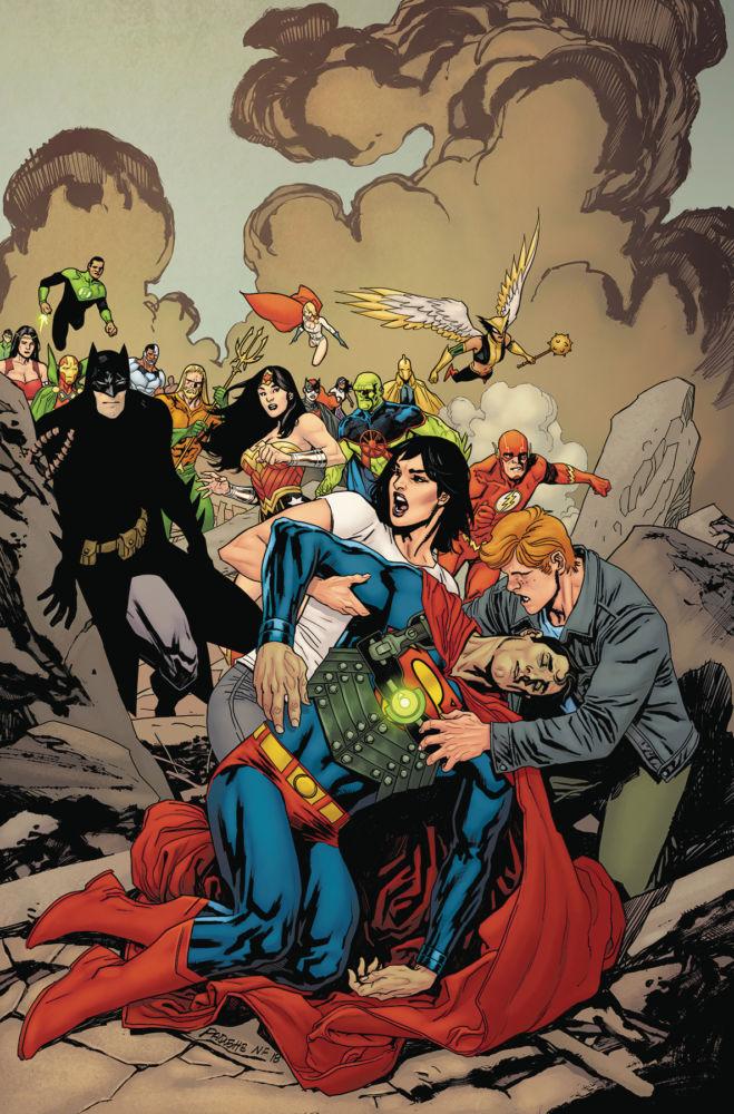 Superman: Leviathan Rising Special #1, copertina di Yanick Paquette