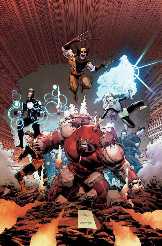 Uncanny X-Men #21, copertina di Whilce Portacio