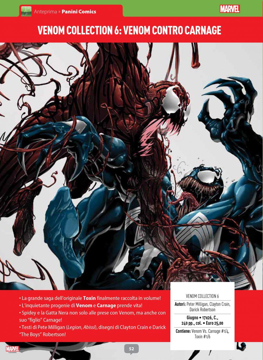 Venom contro Carnage su Anteprima