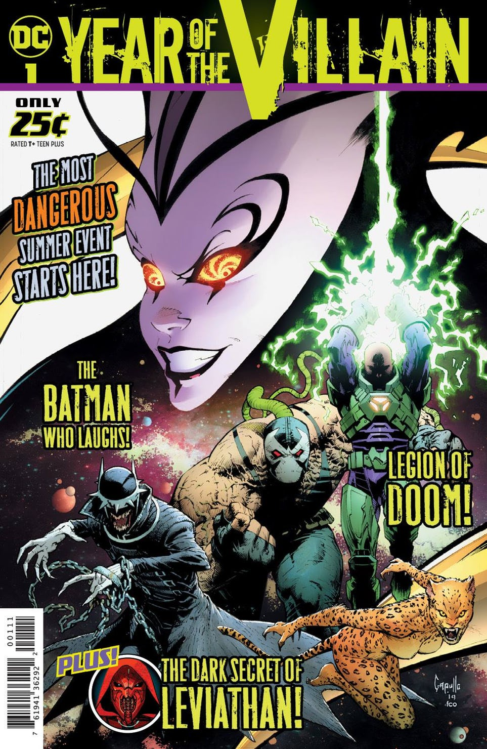 Year of the Villain #1, copertina di Greg Capullo