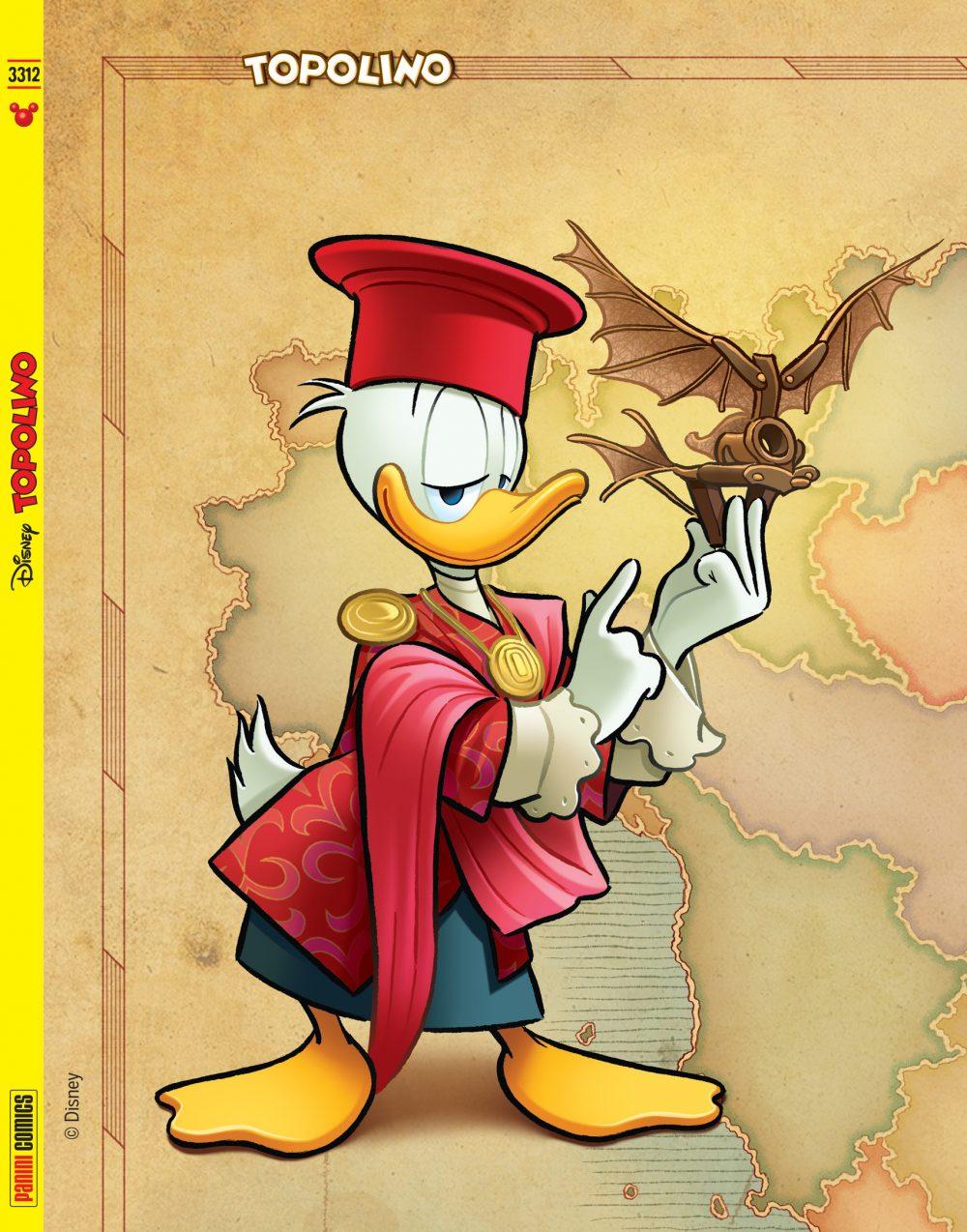 Topolino 3312, copertina puzzle