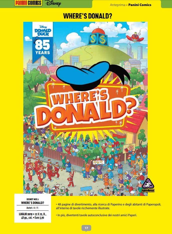 Where's Donald?